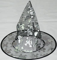 Шляпа ведьмы (прозрачная), фото 1