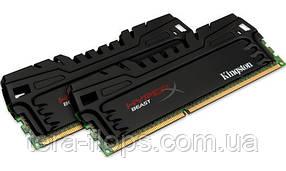 Оперативная память HyperX Beast DDR3 16GB (2x8GB) 2400MHz (KHX24C11T3K2/16X) Б/У
