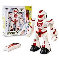 Робот интерактивный на управлении Robot интерактивная игрушка для мальчиков Бело-красный