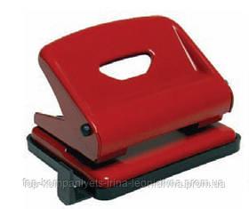 Діркопробивач SCHOLZ на 25л., металевий, червоний (12шт/уп)