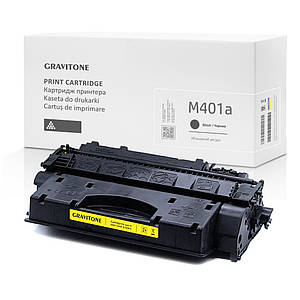 Картридж совместимый HP LaserJet Pro M401a (CF270A) повышенный ресурс, 6.900 копий, аналог от Gravitone