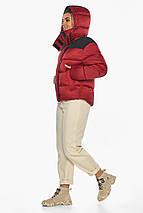 Рубиновая куртка трендовая женская модель 57520, фото 2