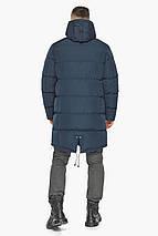 Комфортна зимова куртка синя модель 49609, фото 2