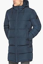 Комфортна зимова куртка синя модель 49609, фото 3