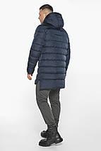 Тёмно-синяя зимняя практичная куртка модель 49008, фото 2