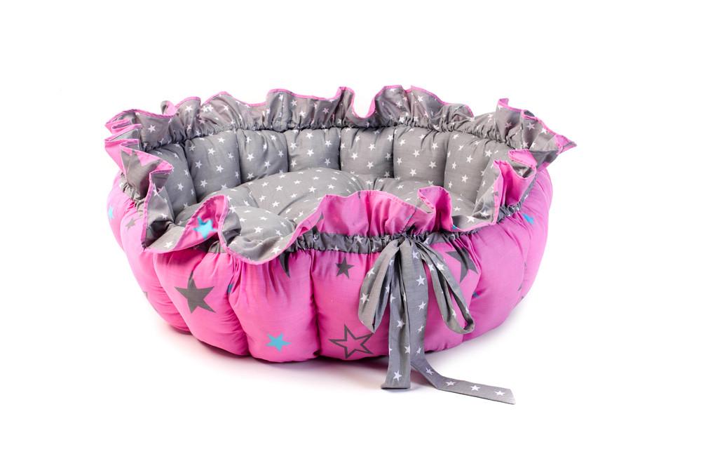 Детский игровой коврик на пол манеж для младенцев Kospa Звезды Rose