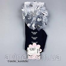 Носки гольфы для девочки Чёрный Турция 12-18 (р)
