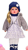 """Кукла большая как ребенок Найкраща подружка""""PL-520-1801ABCD мягконабивная,4 вида, 46 см, говорит 120 фраз"""