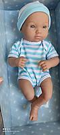 Реалистичный Пупсик как настоящий новорождённый ребенок 35 см Пупс DF14-003B