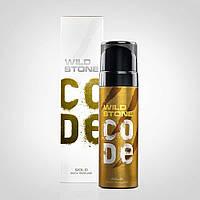 Мужская туалетная вода Wild Stone CODE Gold 120 мл