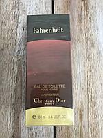 Чоловіча туалетна вода Fahrenheit 100ml парфуми чоловічі парфуми діор Фаренгейт, фото 6