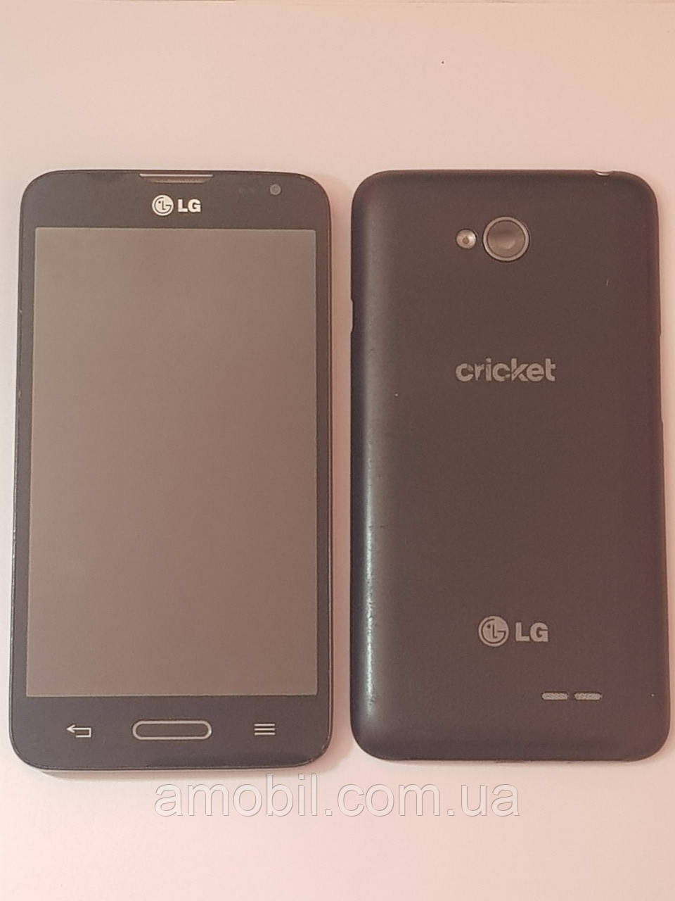 Дисплей + сенсор LG L70 D320 з рамкою orig black б.у