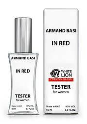 Тестер Premium Class жіночий Armand Basi in Red, 60 мл