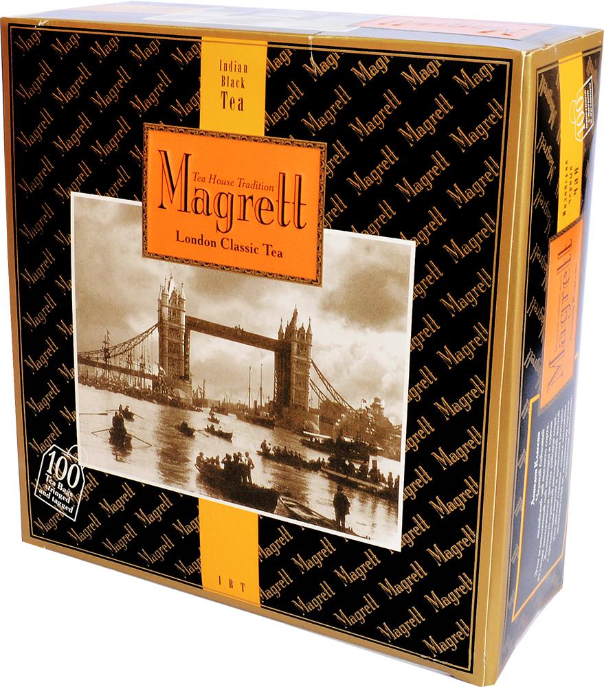 Magrett Чай Лондон класік ф/п 2г*100шт
