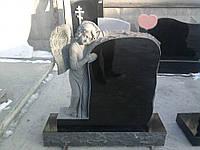 Памятник на могилу в виде ангела. Памятник ребенку с Ангелом
