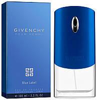 Мужские духи Pour Homme Blue Label 100ml мужской парфюм Живанши Пур Хом Блу Лейбл туалетная вода