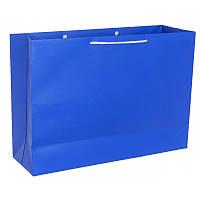Пакет подарочный бумажный 50х35х15 см под большие подарки (возможно нанесение лого)