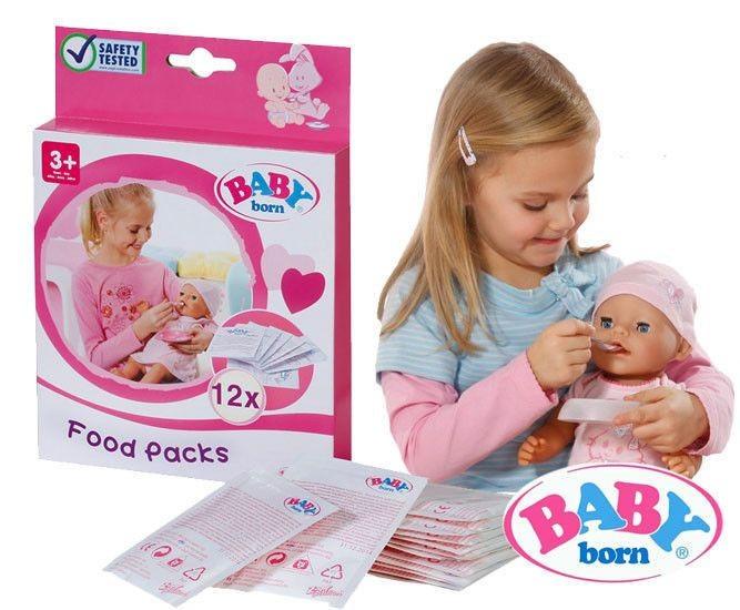 Еда для куклы каша Baby Born Zapf Creation 779170