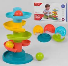 Райдужна вежа з кульками Roll Ball