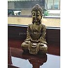 Фігурка Будда з полистоун золото һ30см