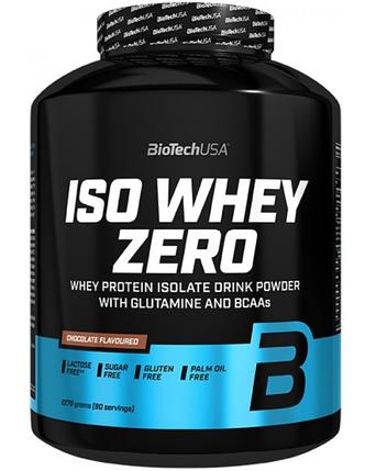 Протеїн Iso Whey Zero BioTech 2270 g, фото 2