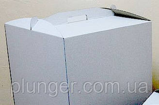 Коробка картонная для торта 30 см х 40 см х 40 см