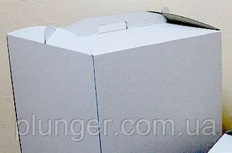 Коробка картонная для торта 31 см х 41 см х 18 см
