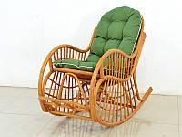 Кресло-качалка Пенел CRUZO натуральный ротанг медовый kk00099, КОД: 1925261
