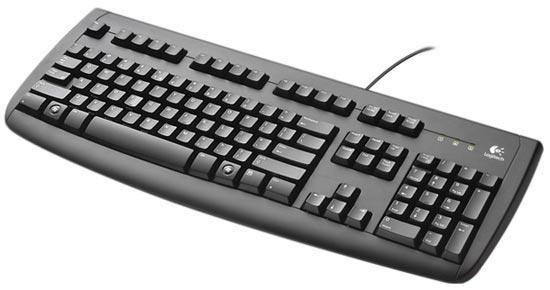 Клавиатура USB Logitech Deluxe 250 Y-UT76- Б/У