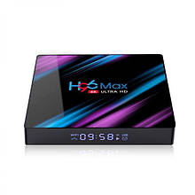 TV приставка Rockchip H96 Max RK3318, 4GB RAM, 32GB ROM, чорна