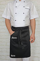 Фартук для официантов короткий с Вашим логотипом, фото 1