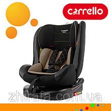 Дитяче автокрісло CARRELLO Capsula Latte Beige Беж (0+1+2+3 група, 0-36 кг, ISOFIX, поворот 360)