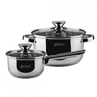 Набор посуды PIXEL Baden PX-6000 (4 предмета)