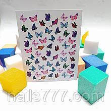 Наклейка для ногтей  Z-D3713