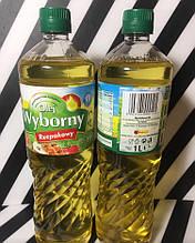 Масло рапсовое растительное первого отжыма Olej Wyborny, 1л, Польша, рафинированое