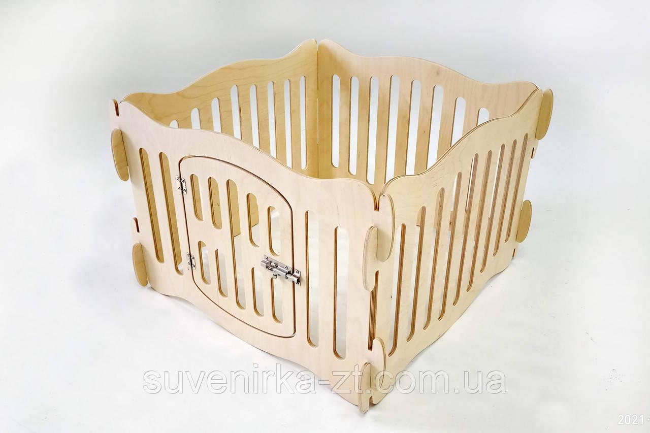 Домашний вольер (манеж) для щенков и маленьких собачек. Высота вольера 40 см.