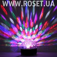Диско-Сфера Led Crystal Magic Ball Light