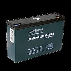 Аккумулятор электромопеда LogicPower LP 6-DZM-35 (12В, 35Ач).