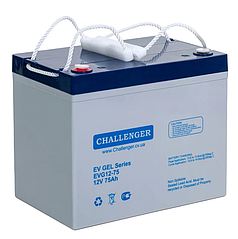 Батарея для электрического скутера Challenger EVG12-75 (12 Вольт, 75 Ач)