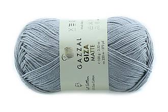 Gazzal Giza Matte, Серый №5554