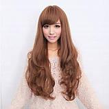 Жіноча перука довге русе волосся бронза арт.6868, фото 2