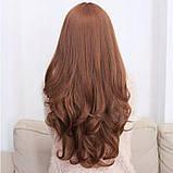 Жіноча перука довге русе волосся бронза арт.6868, фото 3
