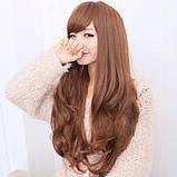 Жіноча перука довге русе волосся бронза арт.6868, фото 4