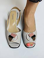 Ripka. Жіночі босоніжки з натуральної шкіри. Розмір 36 37 38 39 40, фото 5