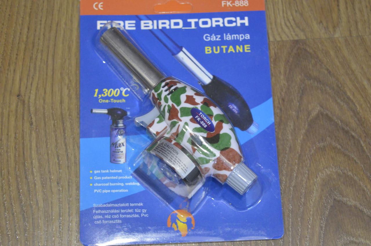 Автоматичний газовий пальник Fire Bird Torch FK-888