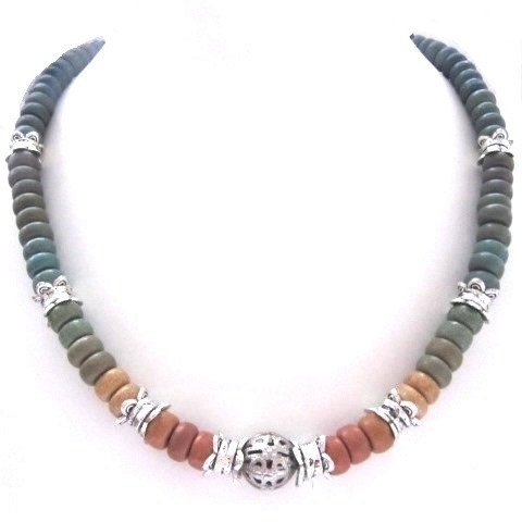Намисто і сережки - кераміка спектр