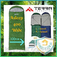 Спальник одеяло туристический Terra Incognita Asleep 400 Wide (ширина 100 см)