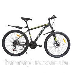 Велосипед SPARK ROVER 26-AL-17-AM-D (Чорний з жовтим)