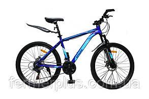 Велосипед SPARK TRACKER 26-AL-18-AM-D (Синій з блакитним)