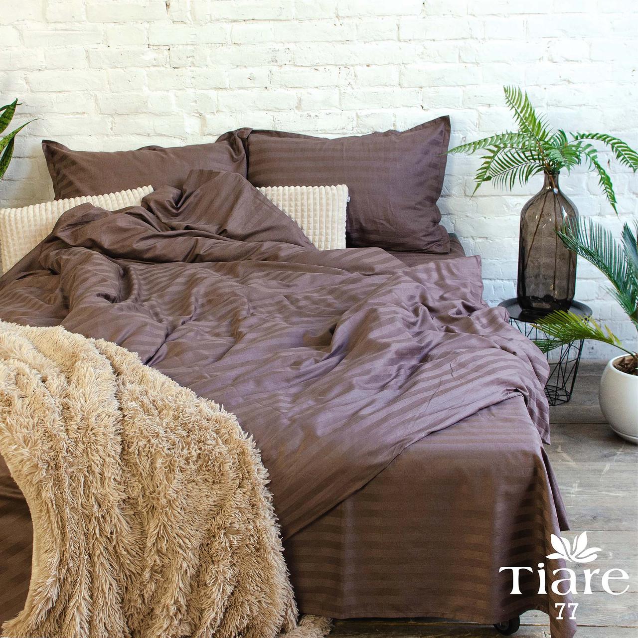 Комплект постельного белья Tiare Евро Сатин Stripe арт. 77